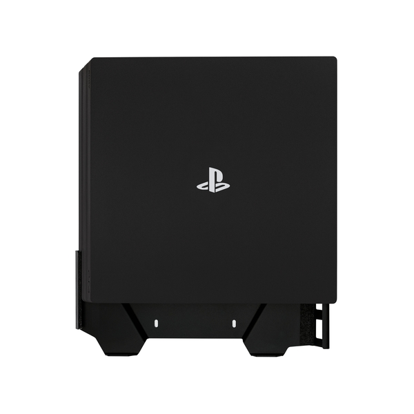 4mount Wall Mount Bracket Black for Playstation 4 Pro Console