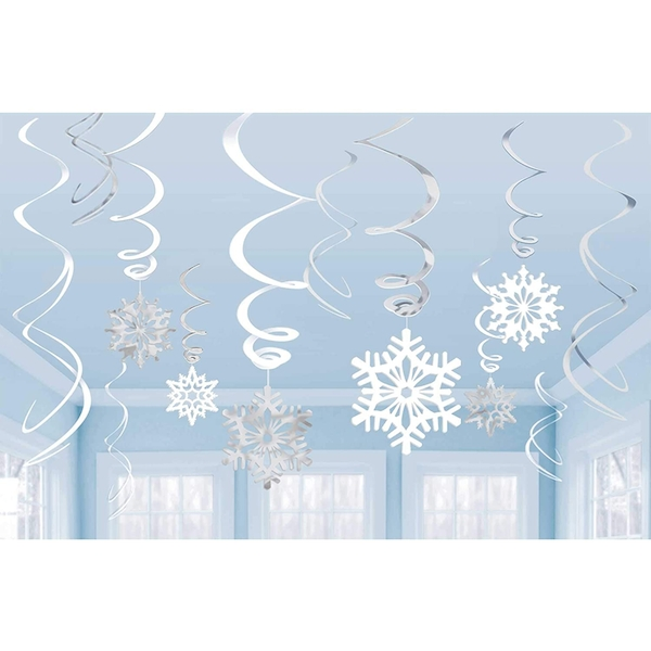 Swirls Snowflake Value Pack