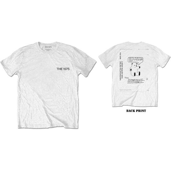 The 1975 - ABIIOR Teddy Men's X-Large T-Shirt - White