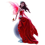 Crimsonlily Fairy Figurine By Nene Thomas