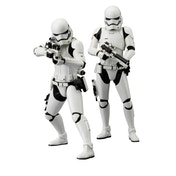 First Order Stormtrooper (Star Wars: The Force Awakens) Kotobukiya ArtFX 2 Pack Statues
