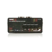 StarTech SV411KUSB KVM / audio switch USB 4 ports 1 local user