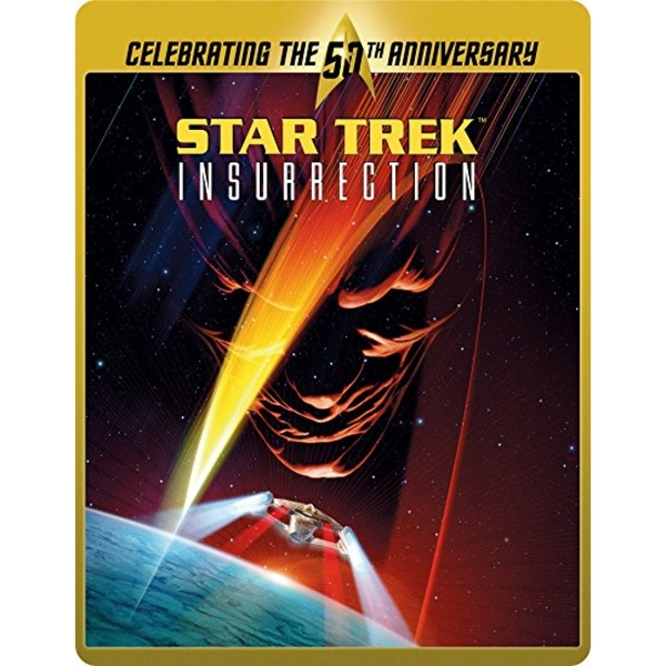 Star Trek 9 - Insurrection (Limited Edition 50th Anniversary Steelbook) Blu-ray