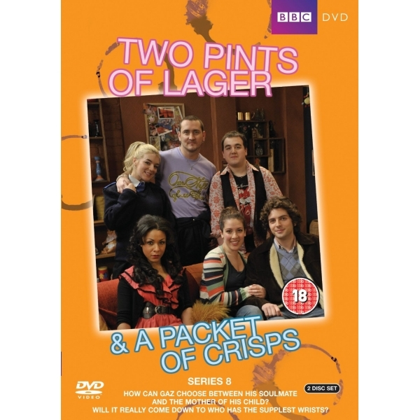 Two Pints Of Lager & A Packet Of Crisps - Series 8 DVD