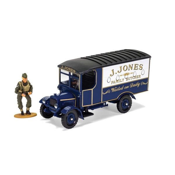 J. Jones Thornycroft van (Dads Army) Figure