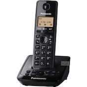 Panasonic KXTG2721EB Digital Cordless Telephone with Answer System Single