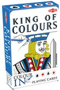 Colour-in Playing Cards King/Queen - Singe Pack