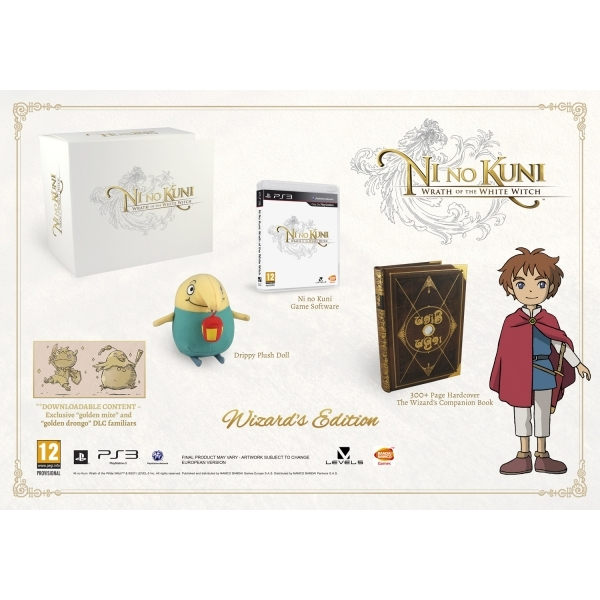 Ni No Kuni Wrath Of The White Witch Wizards Edition Game PS3