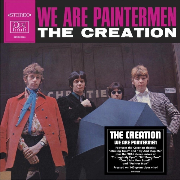 The Creation - We Are Paintermen Clear Vinyl