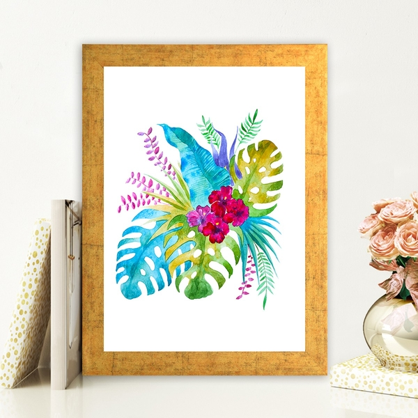 AC682493896 Multicolor Decorative Framed MDF Painting