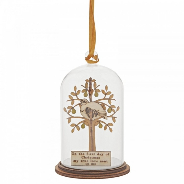 Partridge in a Pear Tree Hanging Ornament