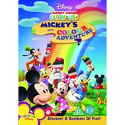 Mickey Mouse Clubhouse Mickeys Colour Adventure DVD