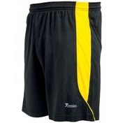 Precision Real Shorts 38-40 inch Black/Yellow
