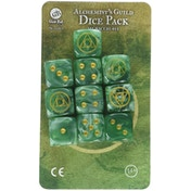 Guild Ball Alchemist Dice - 10 Pack Board Game