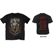 Slayer - Blood Eagle European Tour 2018 Men's X-Large T-Shirt - Black