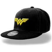 Wonder Woman - Logo Cap - Black (One Size)