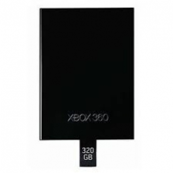 Official 320GB Internal Media Hard Drive Xbox 360