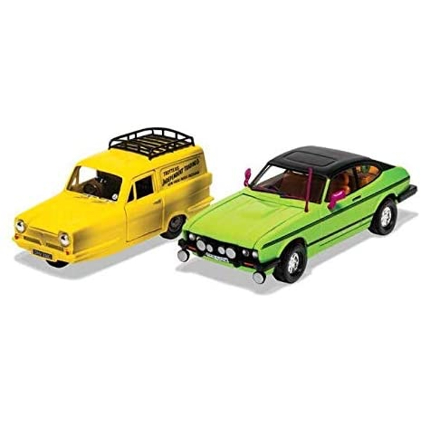 Corgi Del Boy's Reliant Regal and Ford Capri MkII Diecast Model