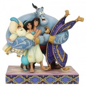 Group Hug (Aladdin) Disney Traditions Figurine