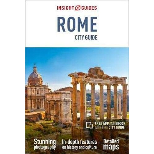 Insight Guides City Guide Rome (Travel Guide with Free eBook)  Paperback / softback 2018