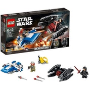 LEGO (Star Wars) A-Wing vs. Tie Silencer Microfighters Construction Set 75196