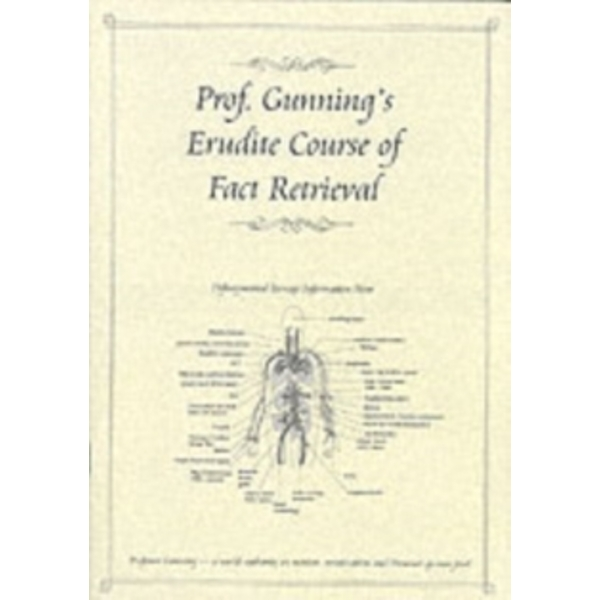 Professor Gunning's Erudite Course of Fact Retrieval (How to Revise) by CGP Books (Paperback, 2003)