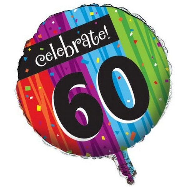 60th Celebrations Balloon