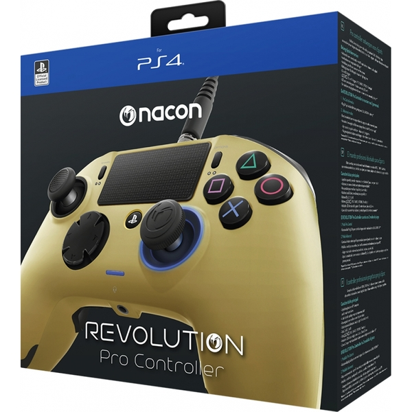 Nacon Revolution Pro Controller (Gold) PS4 - Image 4