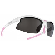 Bliz Rapid White/Pink Smoke w Silver Mirror 16