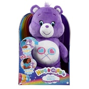 Care Bear Hug and Giggle Share Bear Plush - Purple