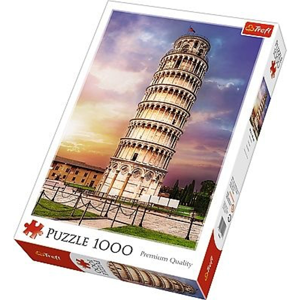 Pisa Tower Jigsaw Puzzle - 1000 Pieces