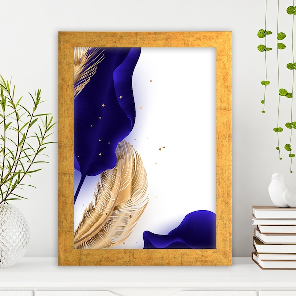AC13947983572 Multicolor Decorative Framed MDF Painting
