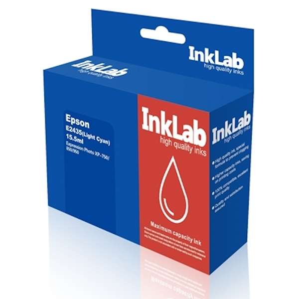 InkLab 2435 Epson Compatible Light Cyan Replacement Ink