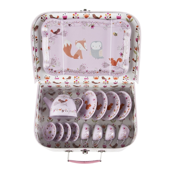 Sass & Belle Woodland Friends Kid's Tea Set