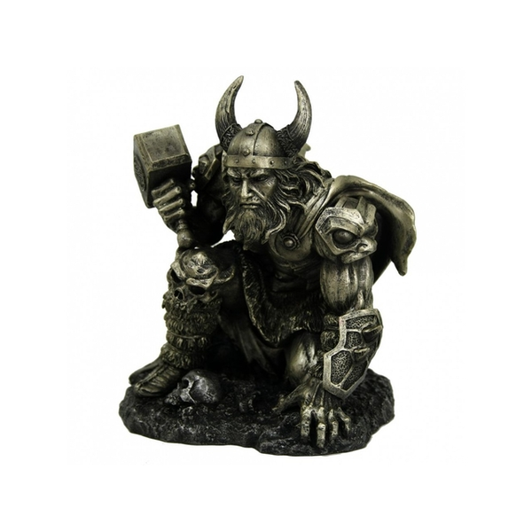 Thunder of Thor Bronze Statue