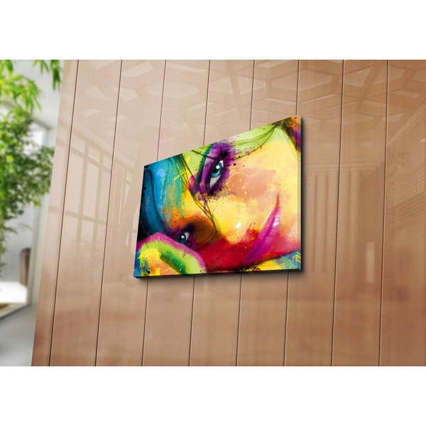 3040ABSWC-03 Multicolor Decorative Canvas Painting