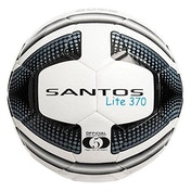Precision Santos Lite Training Ball 370g White/Black Size 5