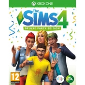 Ex-Display The Sims 4 Deluxe Party Edition Xbox One Game Used - Like New