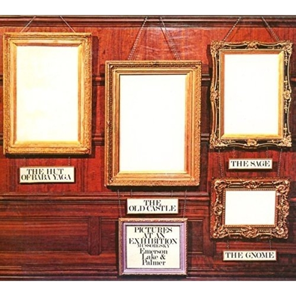Emerson  Lake & Palmer - Pictures at an Exhibition CD