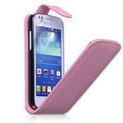 Yousave Samsung Galaxy Ace 3 Leather Effect Flip - Pink