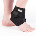 Proworks Adjustable Neoprene Ankle Support Brace In Black - One Size