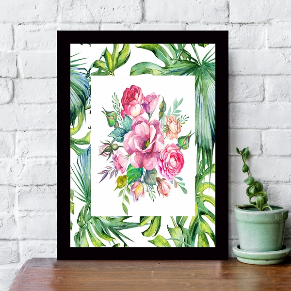 SCZ5536946922 Multicolor Decorative Framed MDF Painting