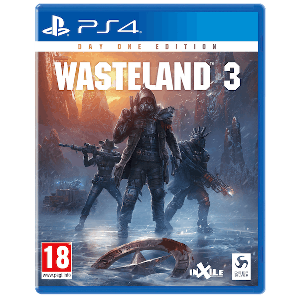 Wasteland 3 Day One Edition PS4 Game
