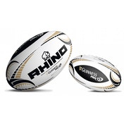 Rhino Guinness Pro12 White Replica Rugby Ball Mini