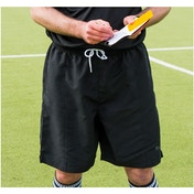 Precision Referees Shorts Black/White 46-48inch
