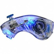 PDP Afterglow AW.2 Nunchuk Controller Glows Blue Wii