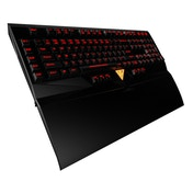 Gamidas Hermes Ultimate Mechanical Gaming Keyboard, Red Cherry MX