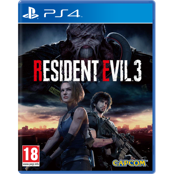 Resident Evil 3 Remake PS4 Game (with Lenticular Sleeve)
