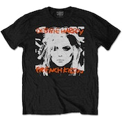 Debbie Harry - French Kissin' Men's XX-Large T-Shirt - Black