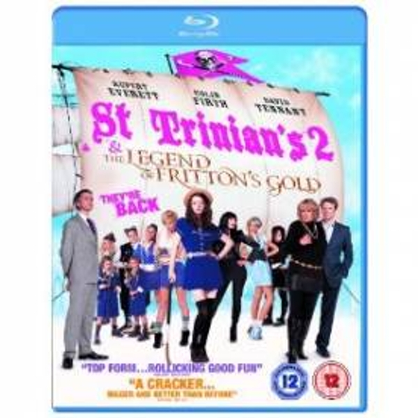 St Trinians 2 The Legend Of Frittons Gold Blu-Ray
